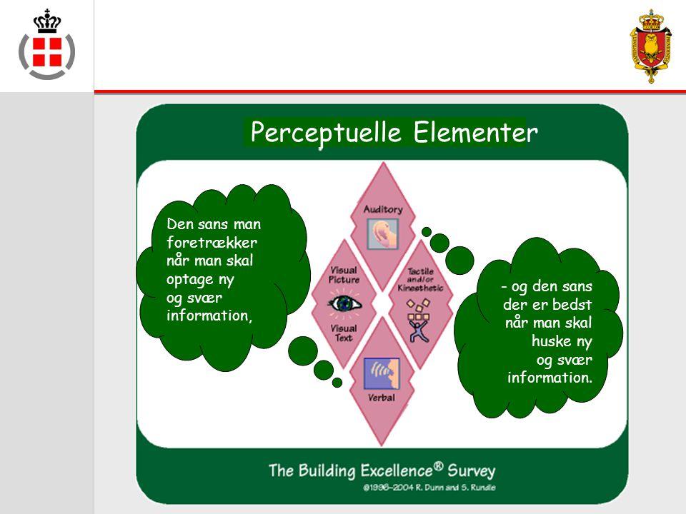 Perceptuelle Elementer