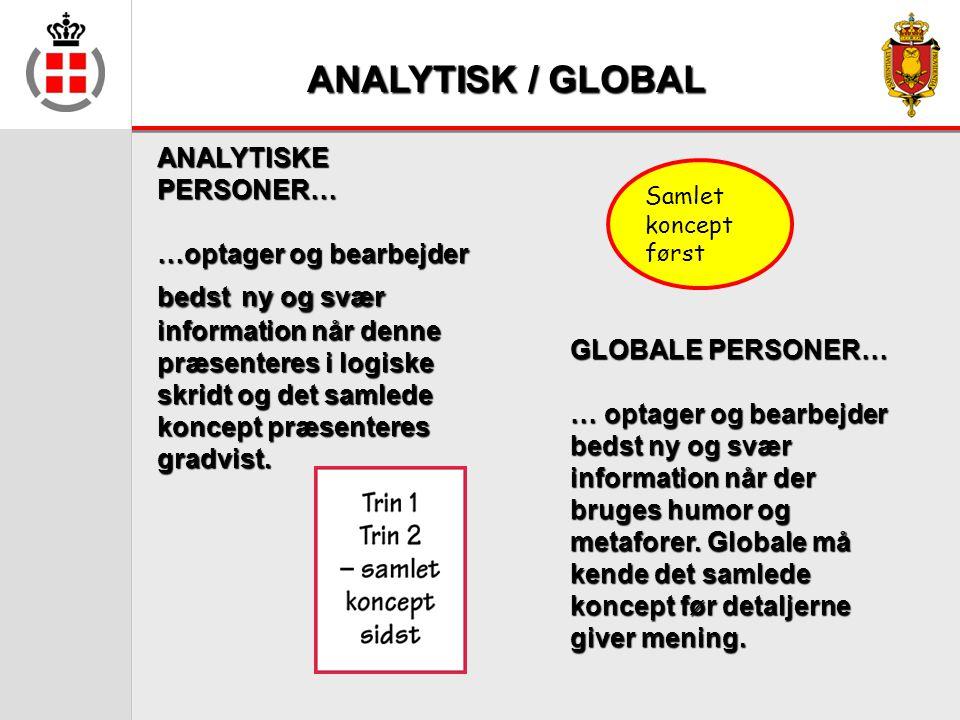 ANALYTISK / GLOBAL ANALYTISKE PERSONER…