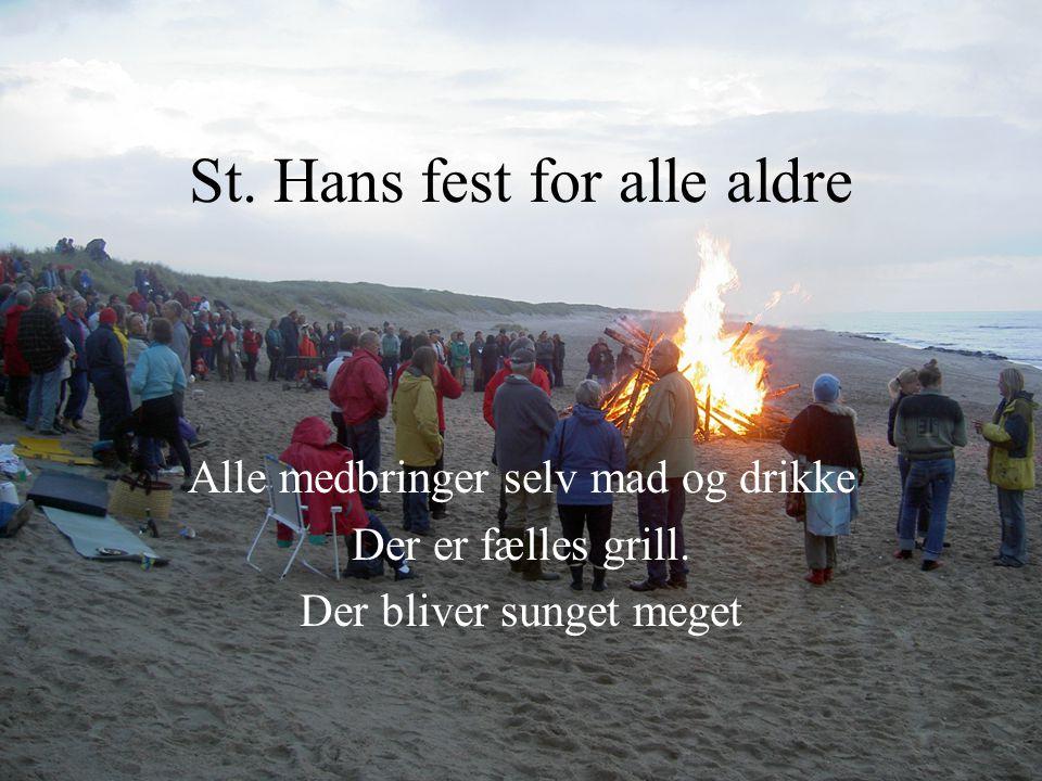 St. Hans fest for alle aldre