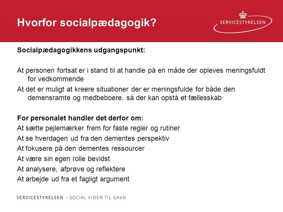 Hvorfor socialpædagogik