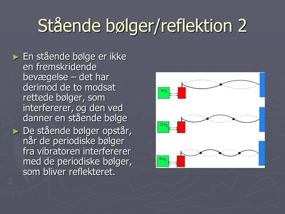 Stående bølger/reflektion 2