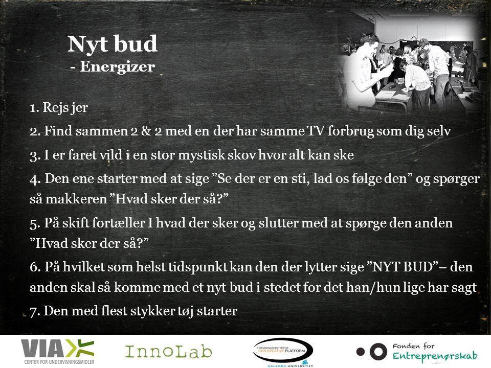 Nyt bud - Energizer 1. Rejs jer