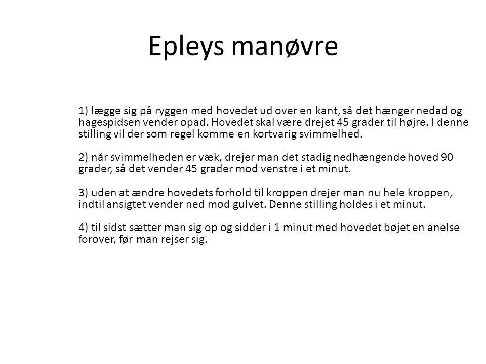 Epleys manøvre