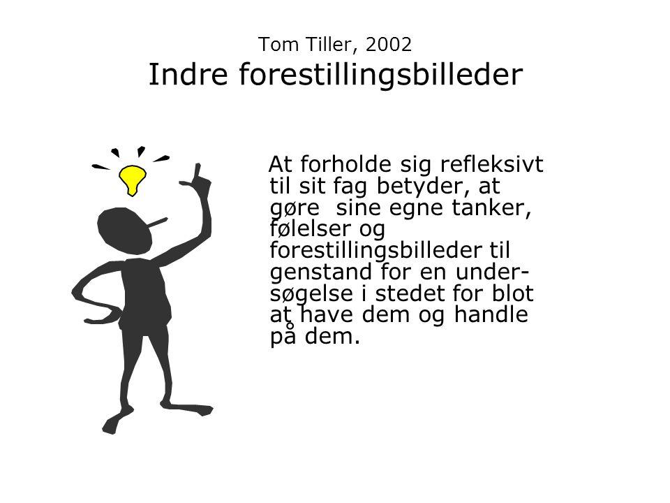 Tom Tiller, 2002 Indre forestillingsbilleder