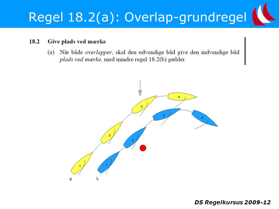 Regel 18.2(a): Overlap-grundregel