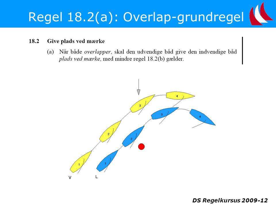 Regel 18.2(a): Overlap-grundregel