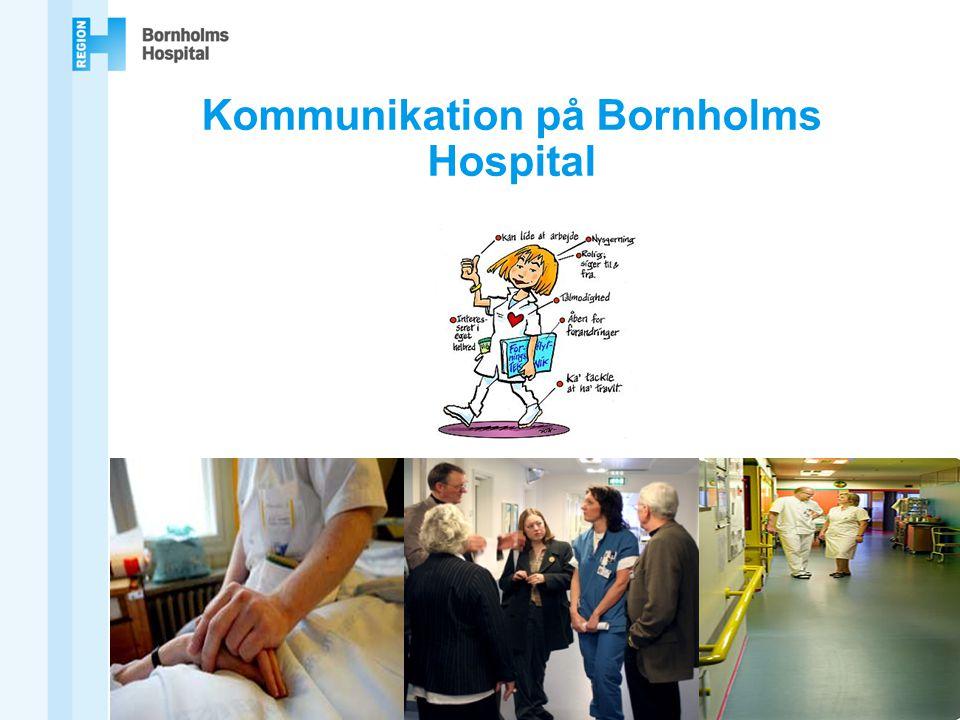 Kommunikation på Bornholms Hospital
