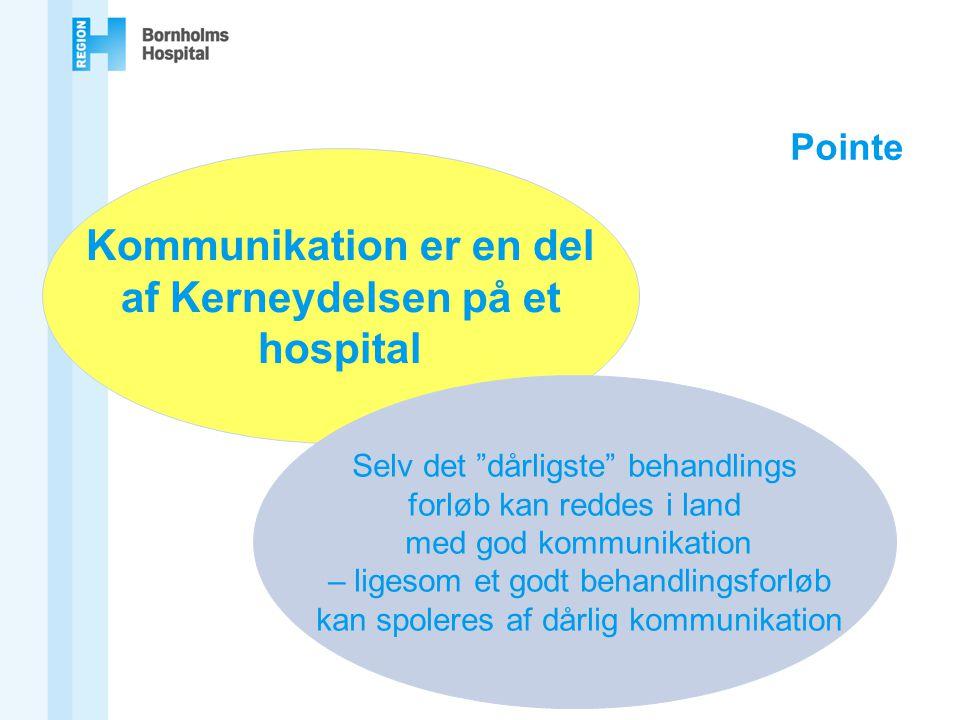 Kommunikation er en del