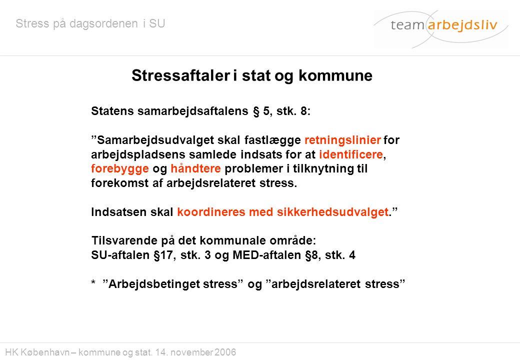 Stressaftaler i stat og kommune