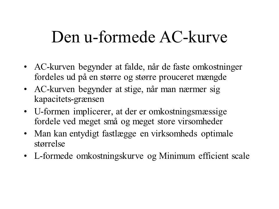 Den u-formede AC-kurve