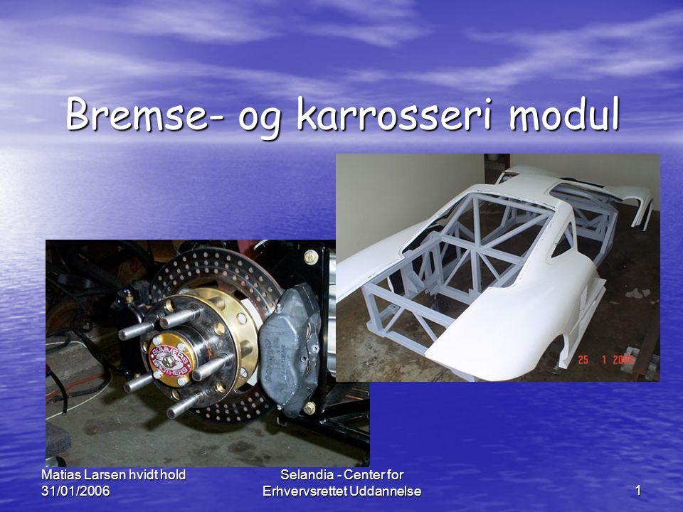 Bremse- og karrosseri modul