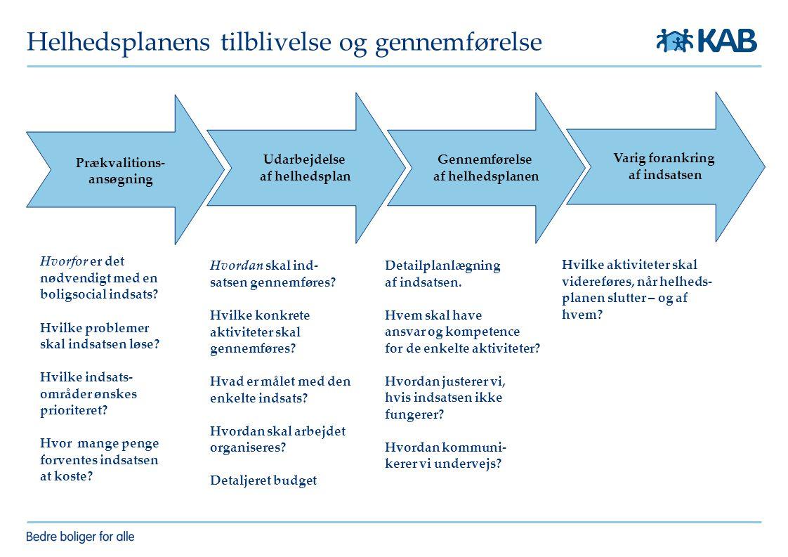 Helhedsplanens tilblivelse og gennemførelse