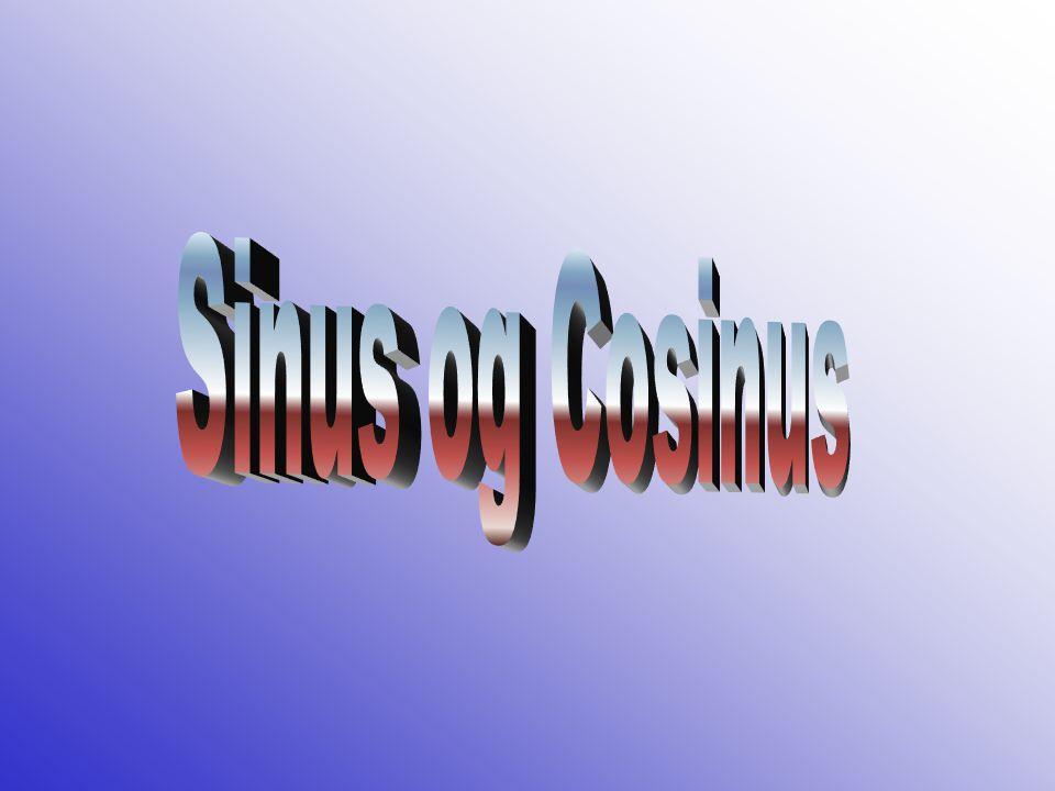 Sinus og Cosinus