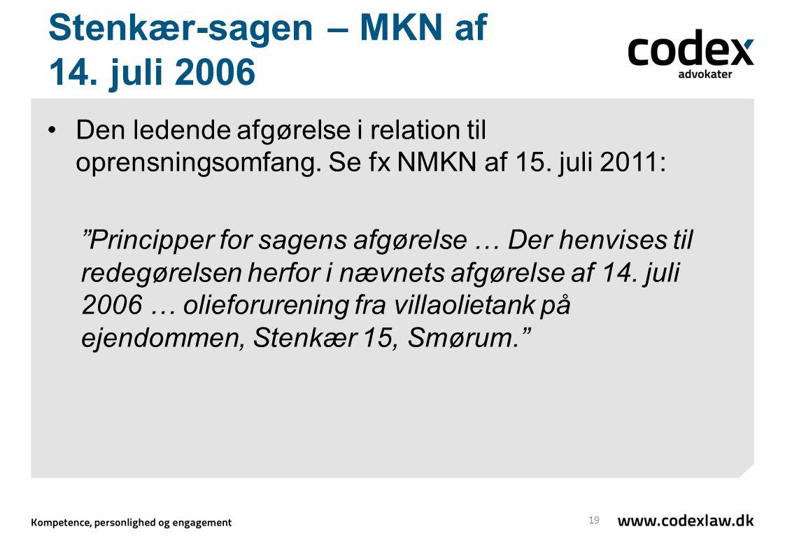 Stenkær-sagen – MKN af 14. juli 2006