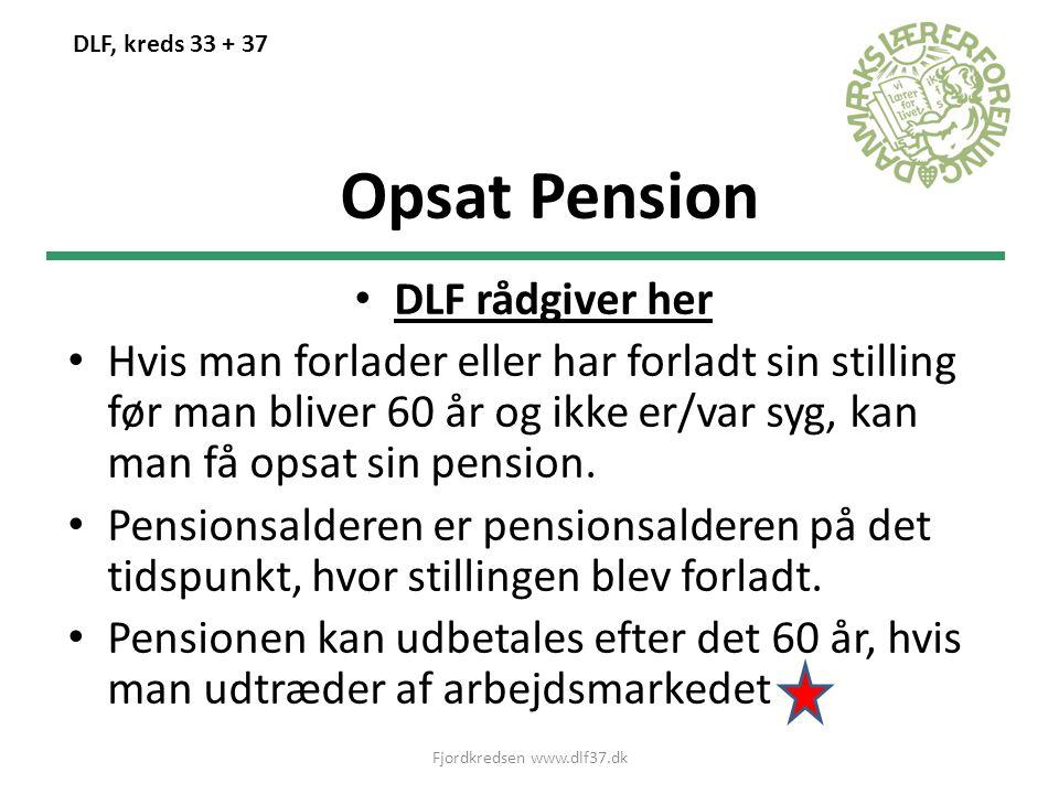 Fjordkredsen www.dlf37.dk