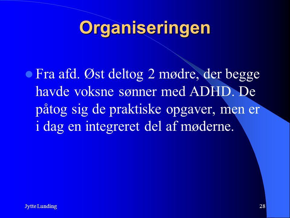 Organiseringen