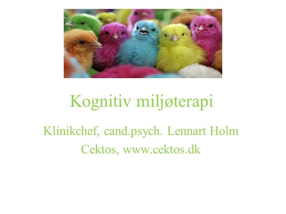 Klinikchef, cand.psych. Lennart Holm Cektos, www.cektos.dk