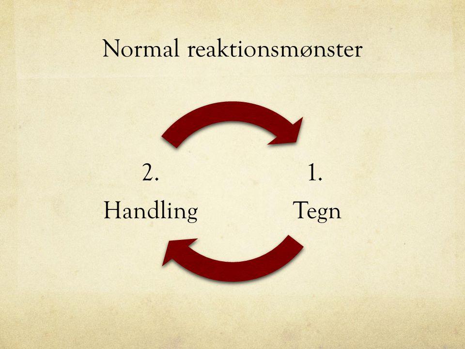 Normal reaktionsmønster