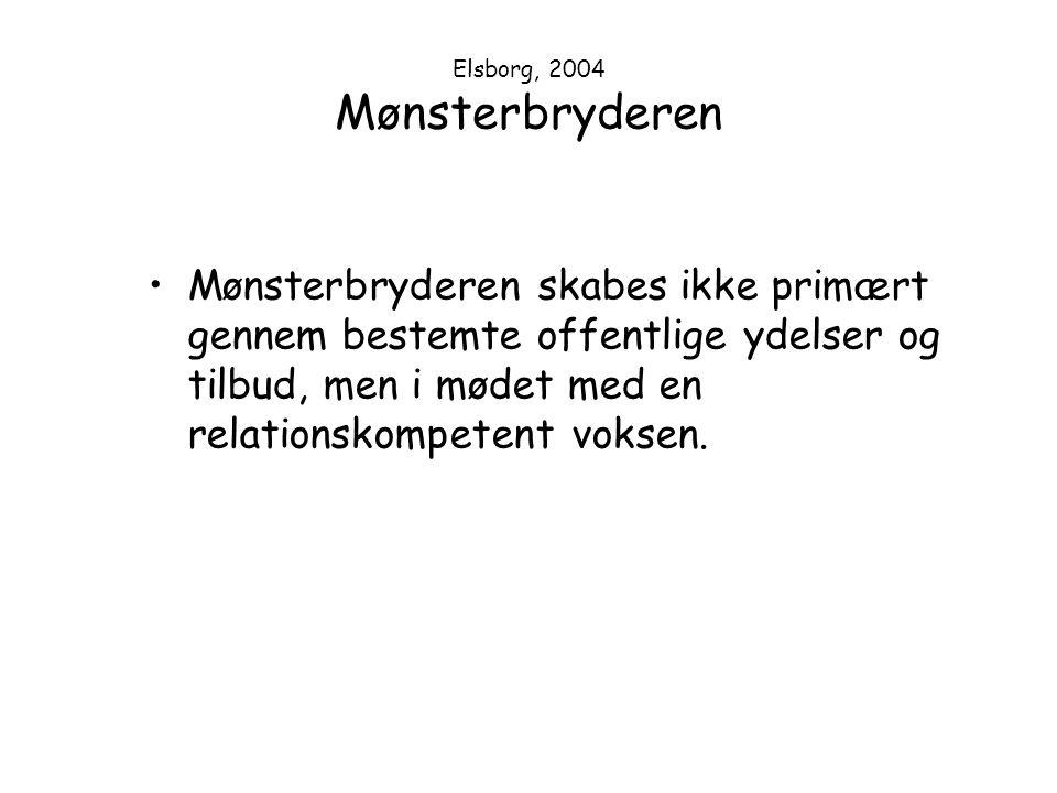 Elsborg, 2004 Mønsterbryderen