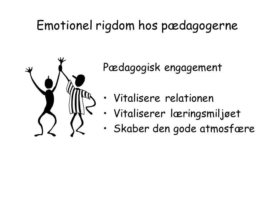 Emotionel rigdom hos pædagogerne