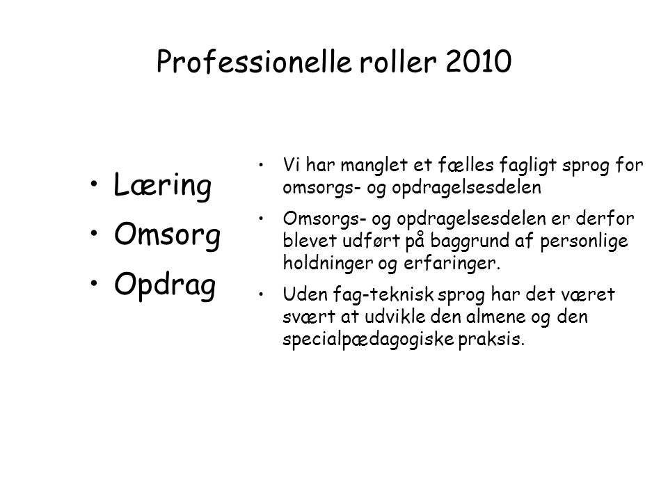 Professionelle roller 2010