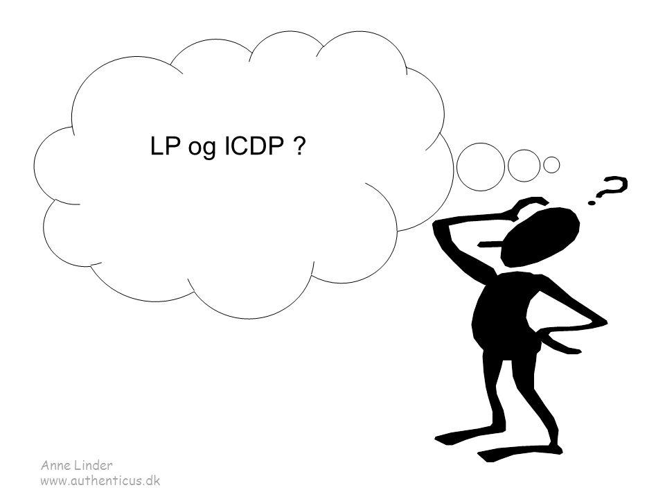 LP og ICDP Anne Linder www.authenticus.dk