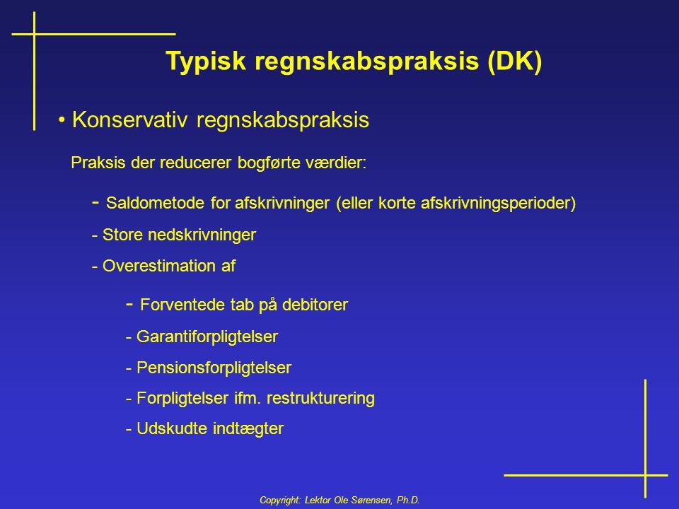 Typisk regnskabspraksis (DK)