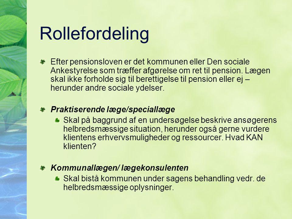 Rollefordeling