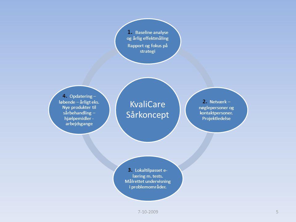 1. Baseline analyse og årlig effektmåling