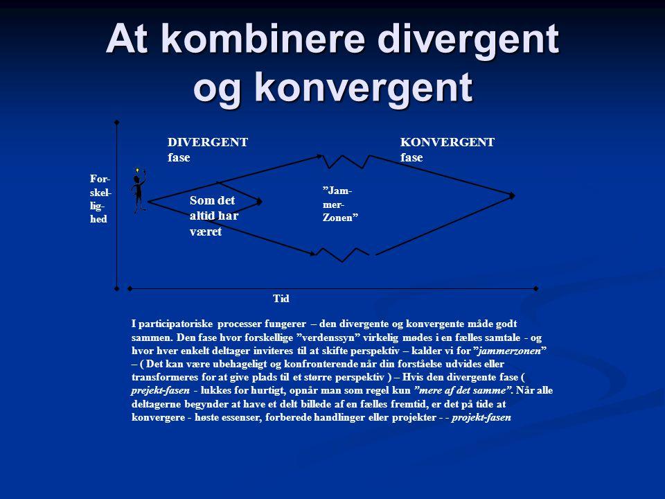 At kombinere divergent og konvergent
