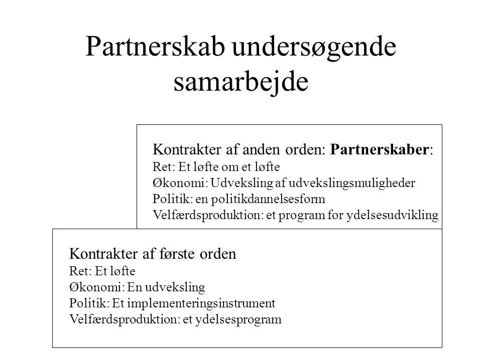 Partnerskab undersøgende samarbejde