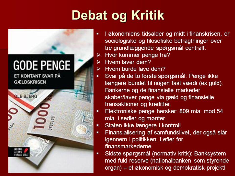Debat og Kritik