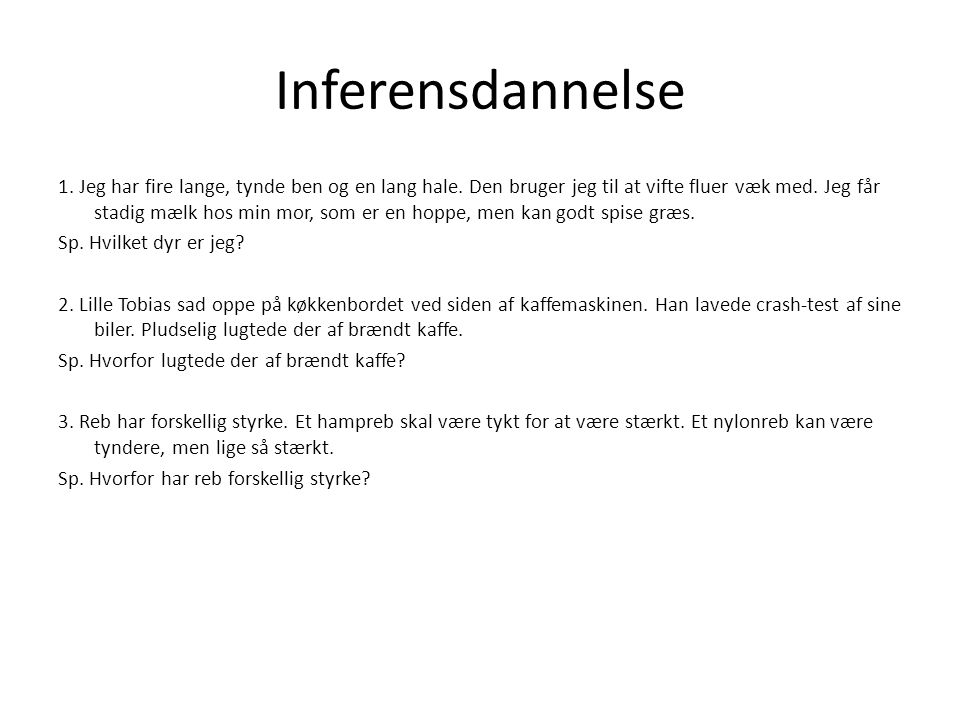 Inferensdannelse