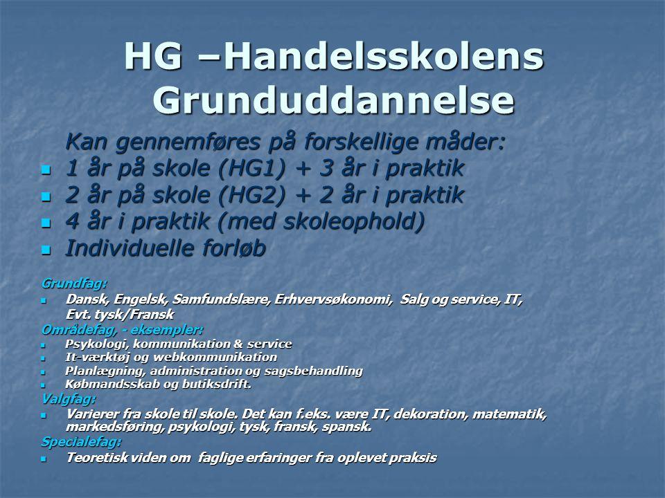 HG –Handelsskolens Grunduddannelse