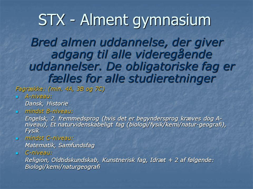 STX - Alment gymnasium