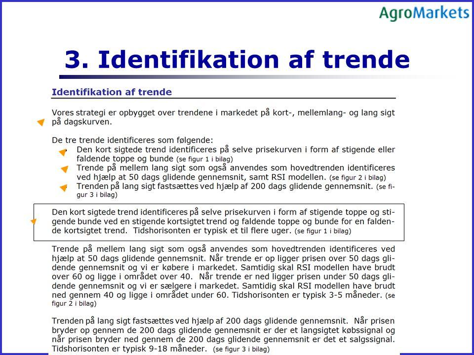 3. Identifikation af trende