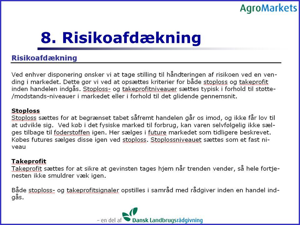 8. Risikoafdækning