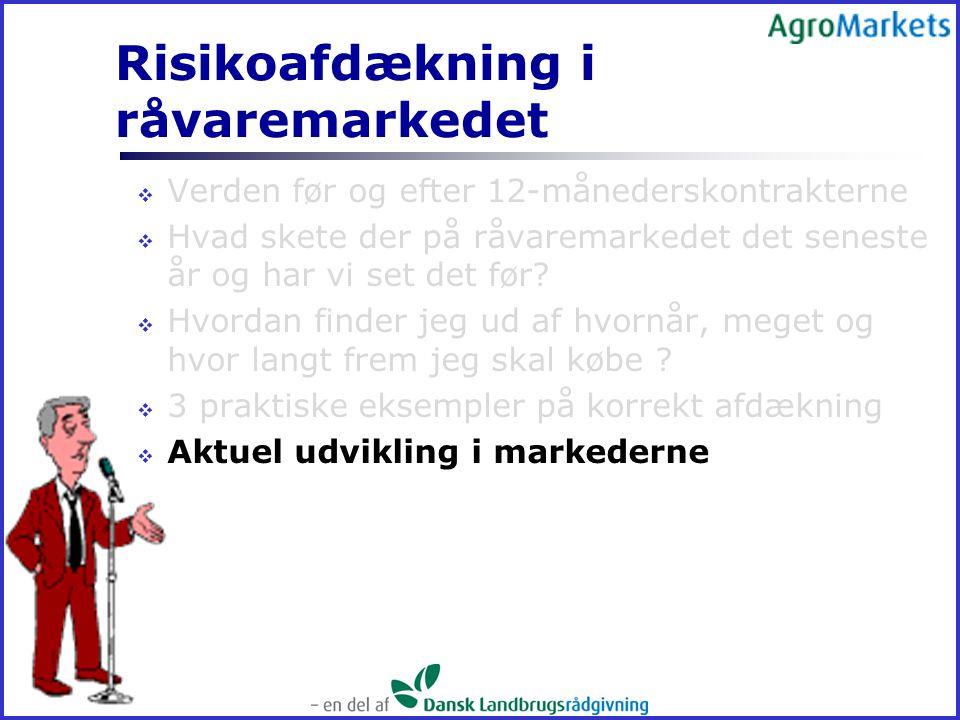 Risikoafdækning i råvaremarkedet