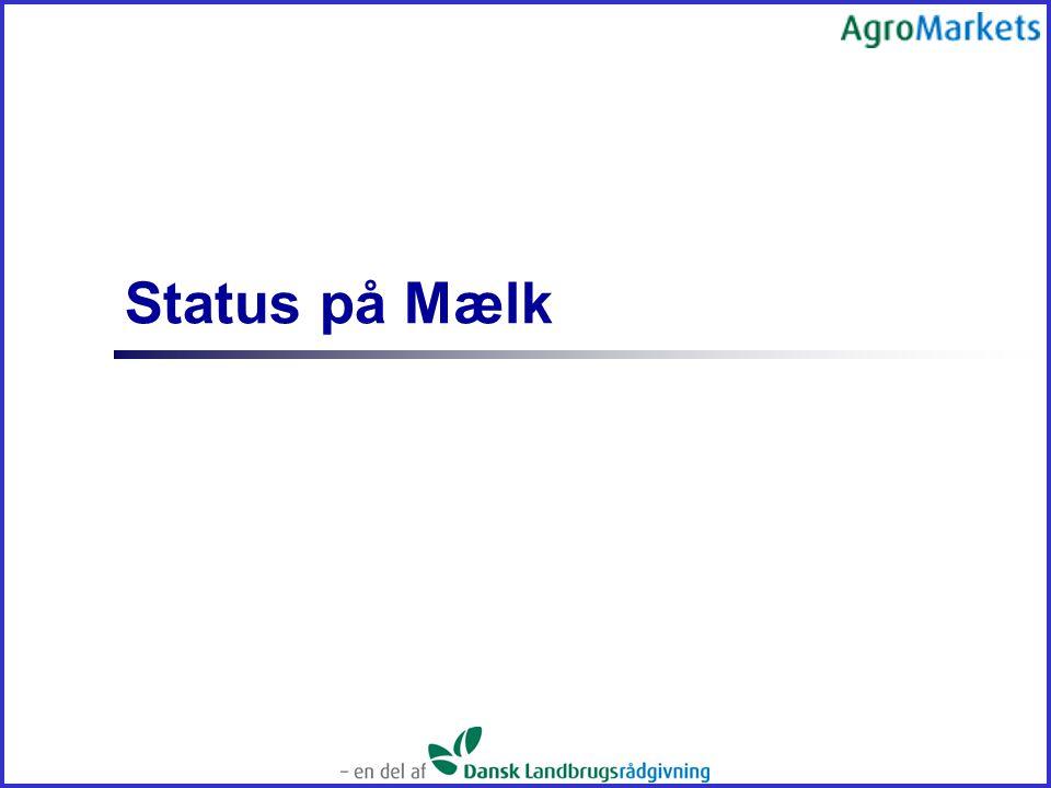 Status på Mælk