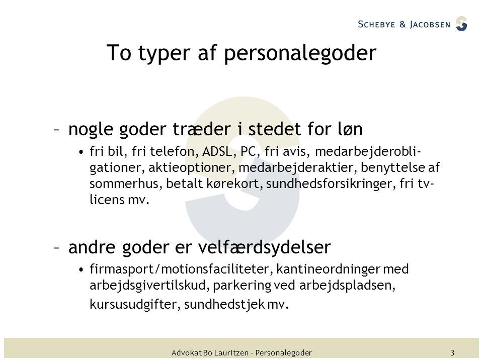 Personalegoder Advokat Bo Lauritzen - ppt download