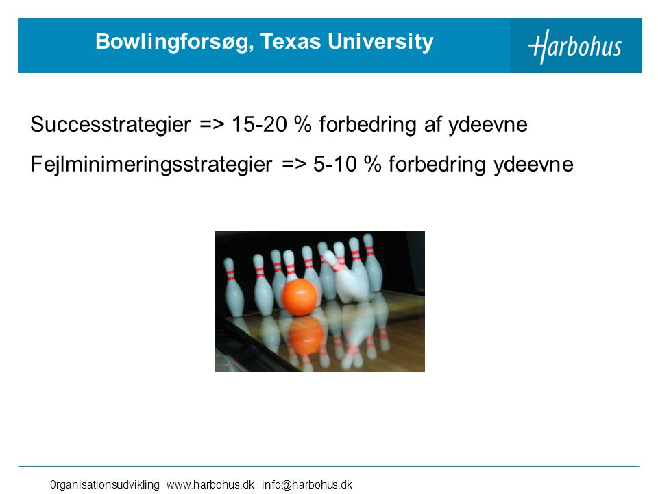 Bowlingforsøg, Texas University