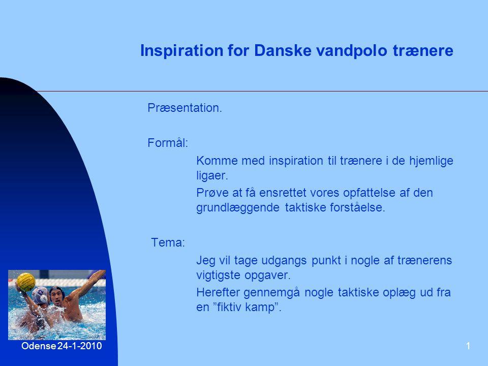 Inspiration for Danske vandpolo trænere