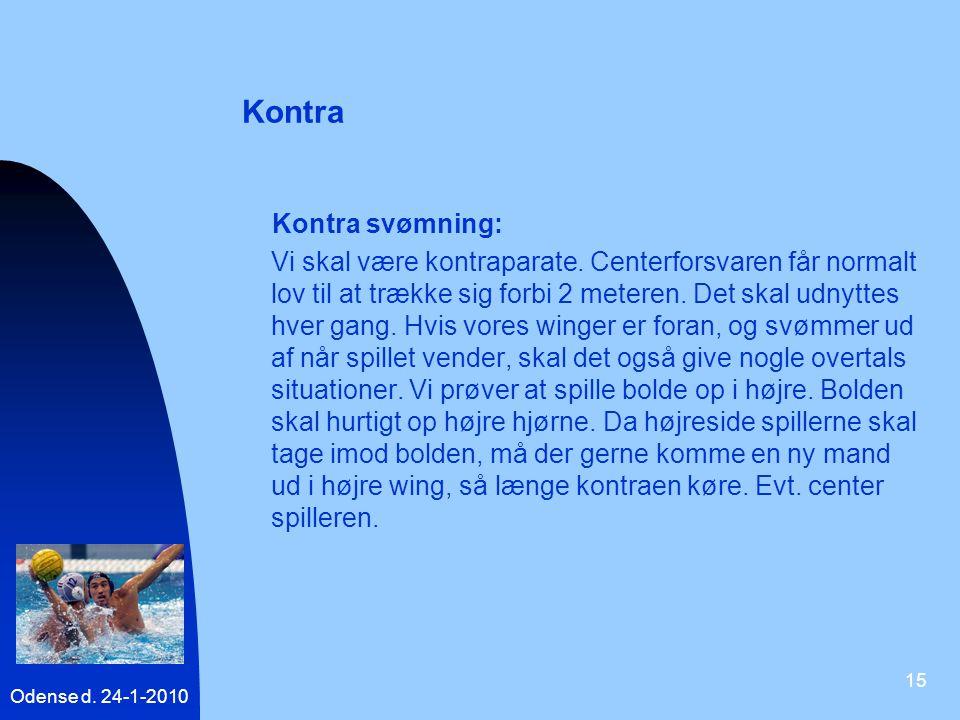 Kontra Kontra svømning: