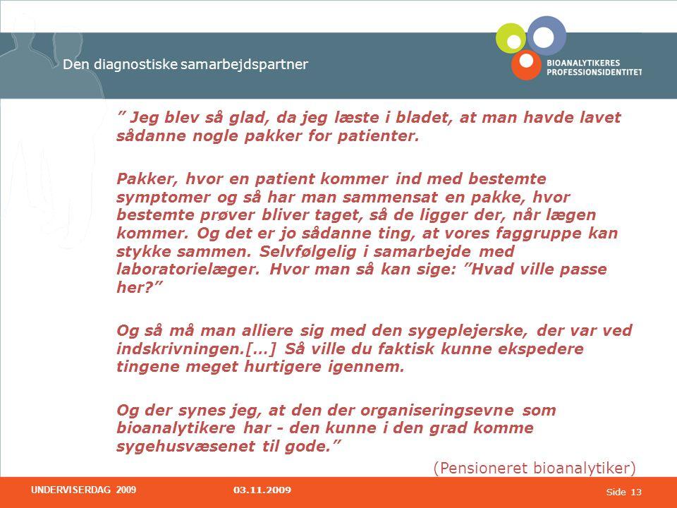 Den diagnostiske samarbejdspartner