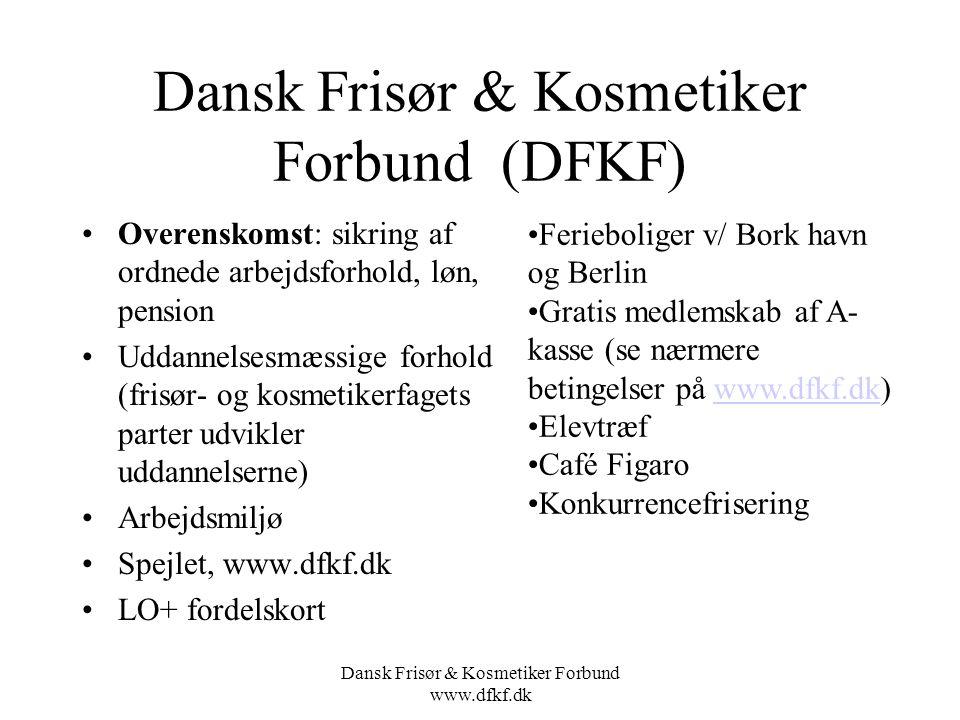 Dansk Frisør & Kosmetiker Forbund (DFKF)