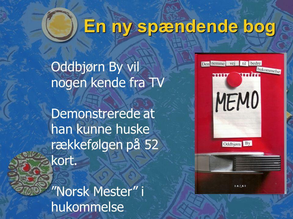 En ny spændende bog Oddbjørn By vil nogen kende fra TV