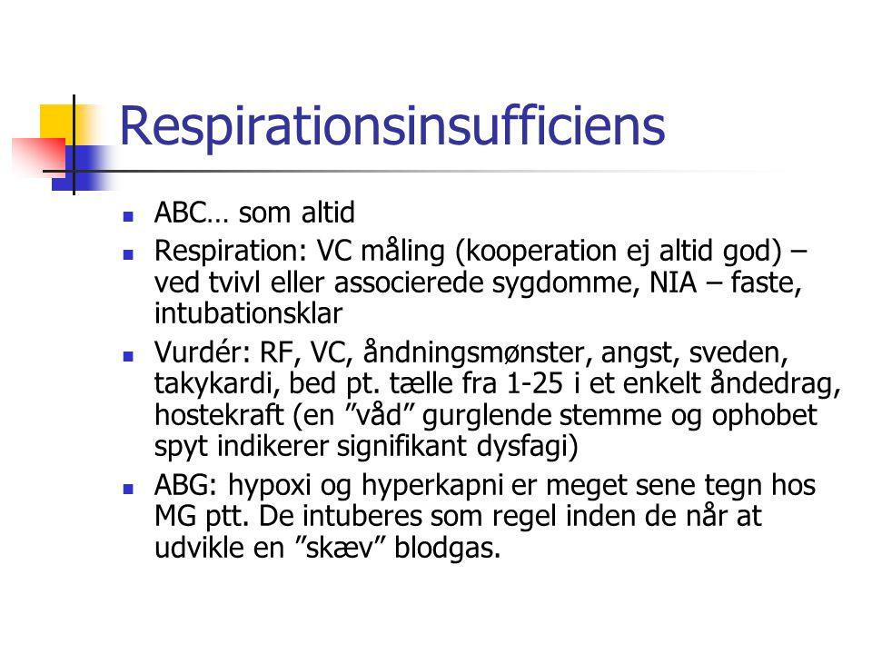 Respirationsinsufficiens