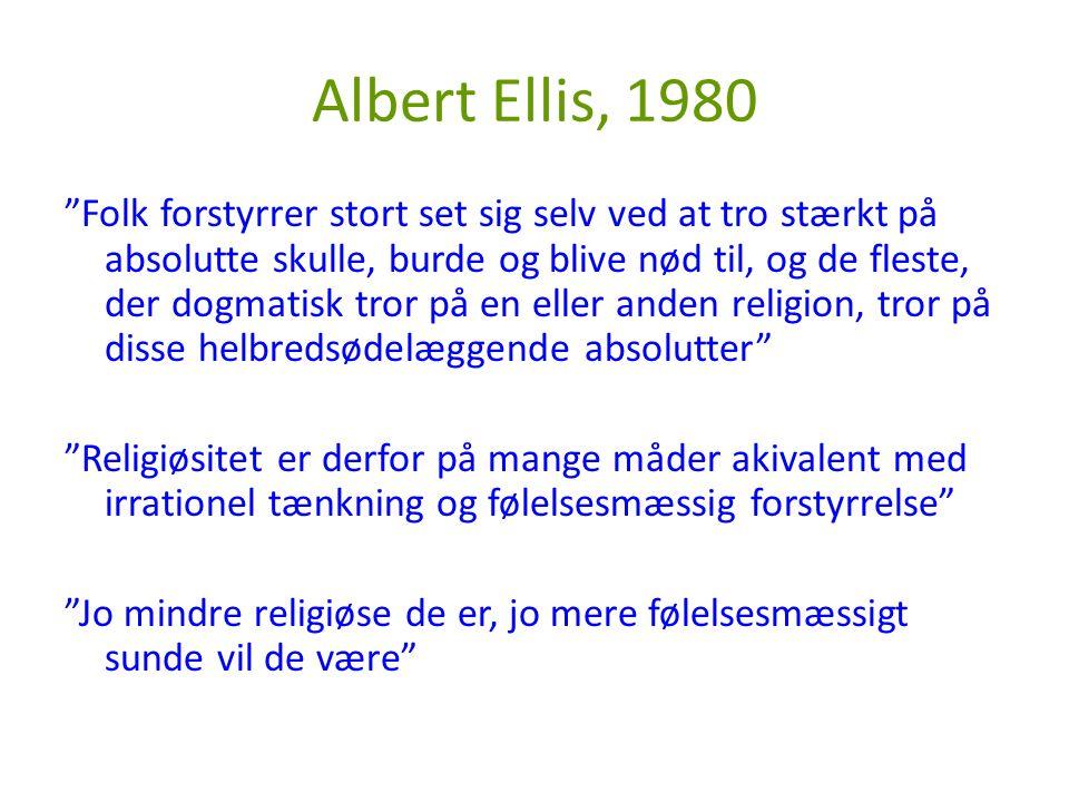 Albert Ellis, 1980