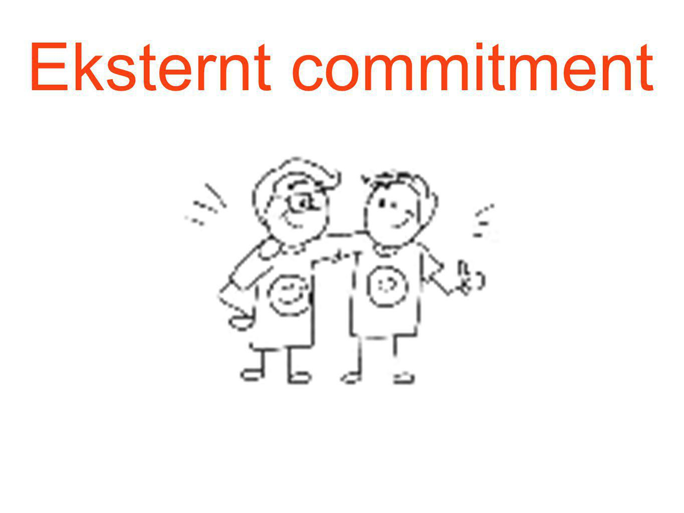 Eksternt commitment