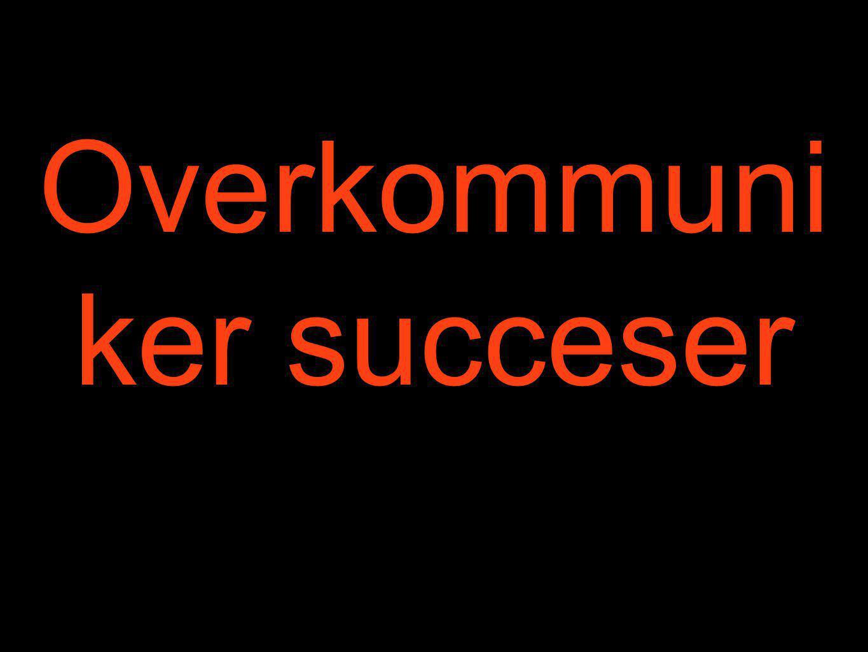 Overkommuniker succeser